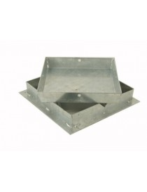 SEAL MANHOLE DOOR FLOOR HEAVY galvanized steel h. 5 cm