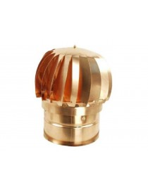 REVOLVING COPPER CHIMNEY FUMAIOLO round base