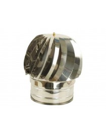 CHIMNEY TURNING FUMAIOLO STAINLESS STEEL round base