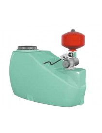 TANK WATER TANK CONTAINER 500 LT WITH AUTOCLAVE