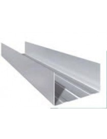galvanized steel U GUIDE mm 40x75x40 ML 3 GYPSUM BOARD