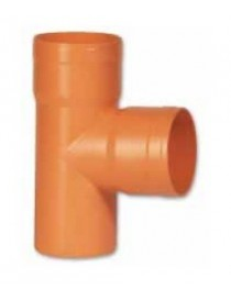 ORANGE PVC PIPE T JOINT