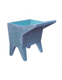 COLORED GRIT SMOOTH SINK cm 50 x 58 x 75 h.