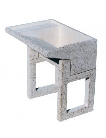 GRIT SMOOTH SINK SUPPORTS cm 50 h. many colours available
