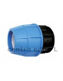 CAP FOR POLYETHYLENE PIPE PRESSURE