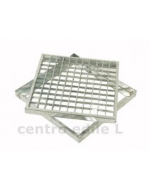 STEEL GRID with mesh FRAME 25 x 25