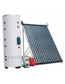 COLLECTOR SOLAR THERMAL HEAT PIPE with accumulation
