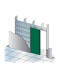 FRAME SLIDING DOOR without JAMBS plasterboard
