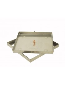 SEAL MANHOLE DOOR FLOOR stainless steel h. cm 3
