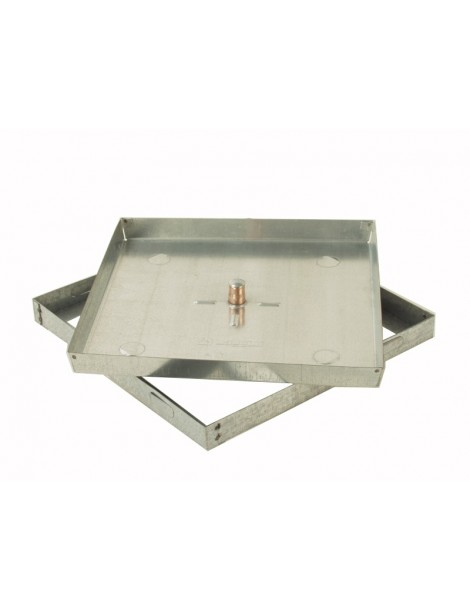 SEAL MANHOLE DOOR FLOOR galvanized steel h. 5 cm
