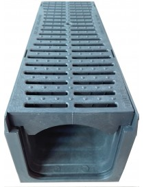 PLASTIC GRID DRAINAGE CHANNEL 13.5 cm